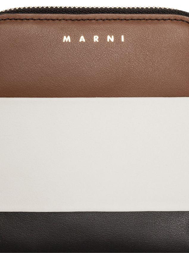 Marni Zip-around wallet in calfskin Woman - 4