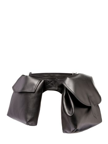 Marni Runway faux leather belt bag  Woman
