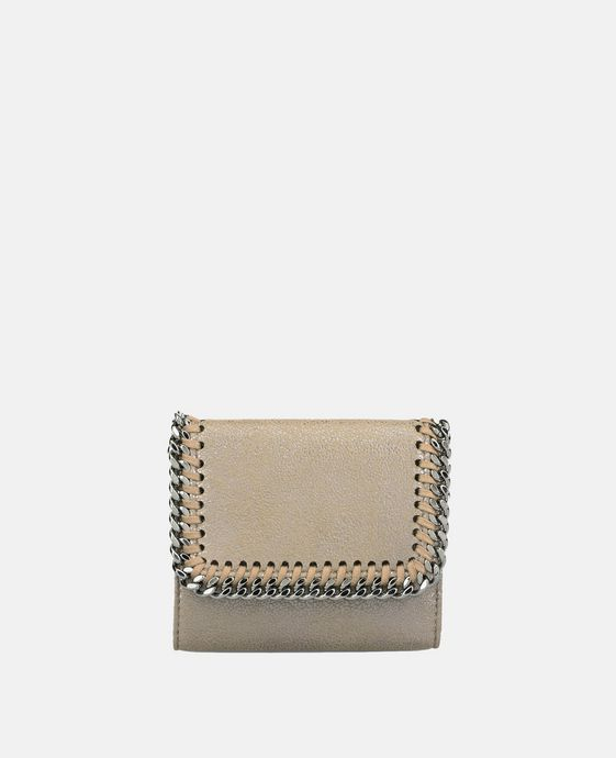 Redwood Falabella Shiny Dotted Flap Wallet