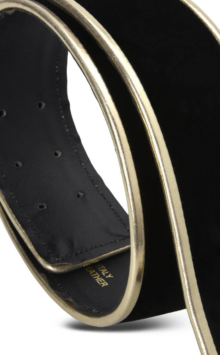 JUST CAVALLI Belt with clasp buckle Belt Woman r