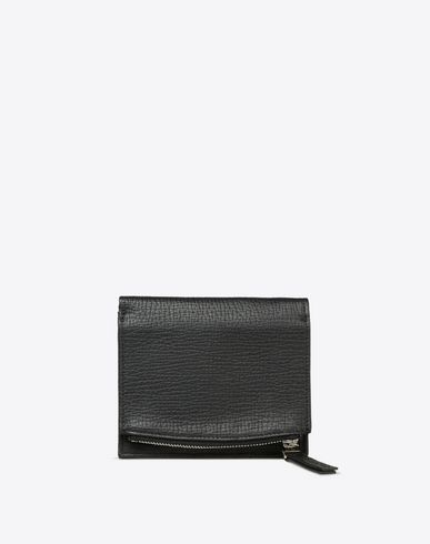 MAISON MARGIELA Wallets U Textured calfskin wallet f