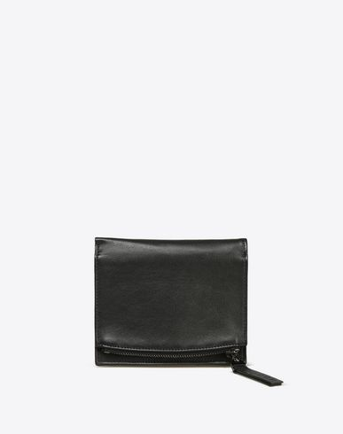 MAISON MARGIELA Wallet U Printed calfskin leather wallet f