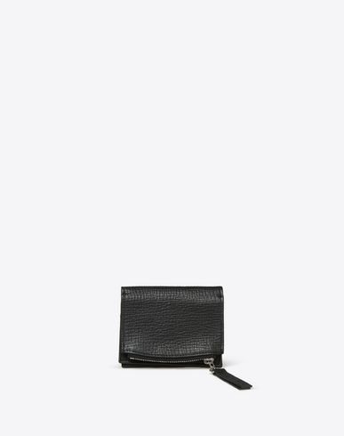 MAISON MARGIELA Wallet U Small textured calfskin wallet f