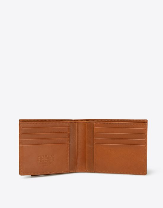 MAISON MARGIELA Calfskin leather wallet Wallet [*** pickupInStoreShippingNotGuaranteed_info ***] d