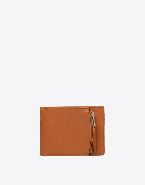 MAISON MARGIELA Calfskin leather wallet Wallet [*** pickupInStoreShippingNotGuaranteed_info ***] f