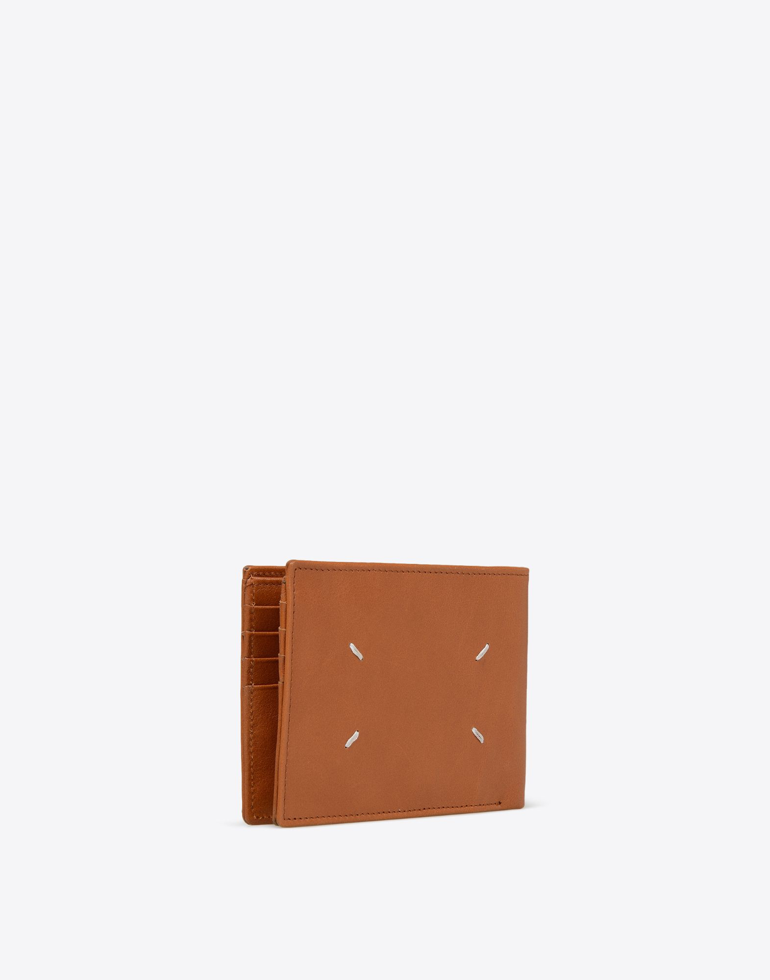 MAISON MARGIELA Calfskin leather wallet Wallet Man r