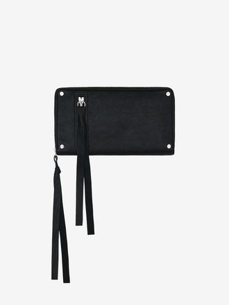Loveless Zip-Around Leather Wallet