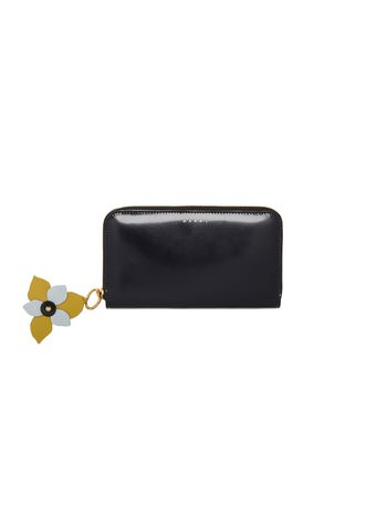 Marni Wallet in shiny calfskin Woman