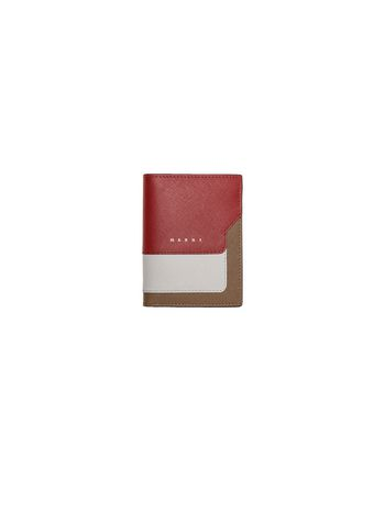 Marni TRUNK wallet in Saffiano Woman