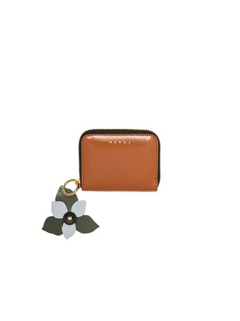 Marni TRUNK wallet in calfskin Woman