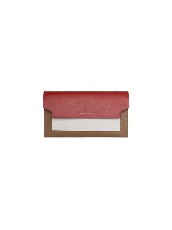 Marni TRUNK gusset wallet Woman