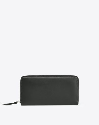 MAISON MARGIELA Wallet in calfskin and PVC Wallet D f