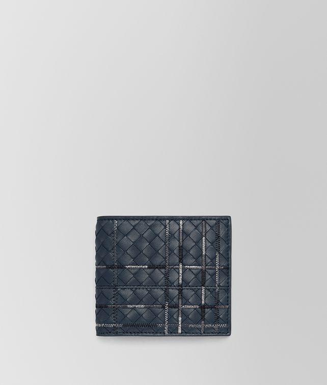 BOTTEGA VENETA DENIM INTRECCIATO NAPPA WALLET Bi-fold Wallet Man fp