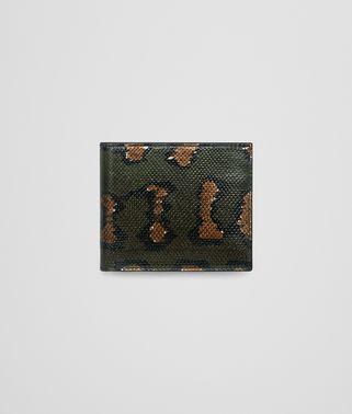 インテンスモス ハンドペイント カルング コインケース付き二つ折りウォレット
