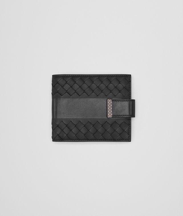 BOTTEGA VENETA NERO NAPPA WALLET Bi-fold Wallet U fp