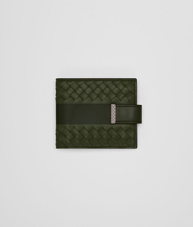 BOTTEGA VENETA MOSS NAPPA WALLET Bi-fold Wallet U fp