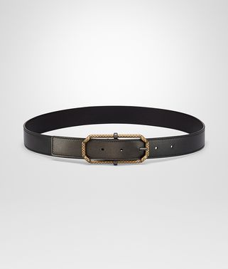 DARK BRONZE NAPPA BELT