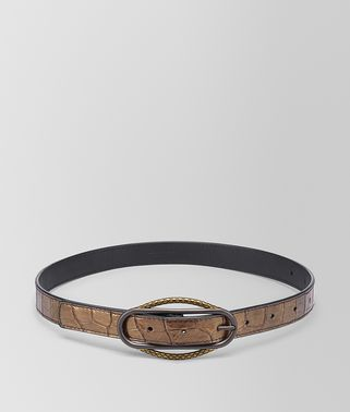 ORO SCURO CROCODILE BELT