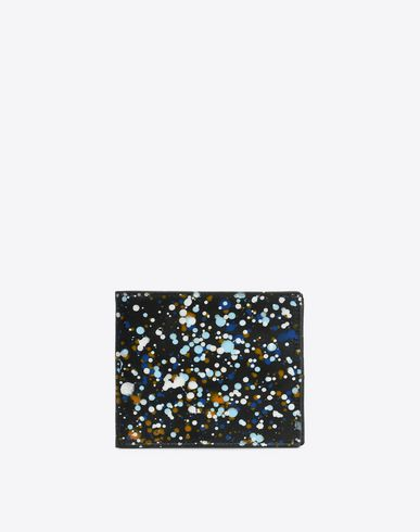 MAISON MARGIELA Wallet U Paint drop calfskin wallet f