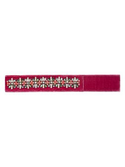 Marni Velvet belt with crystals Woman