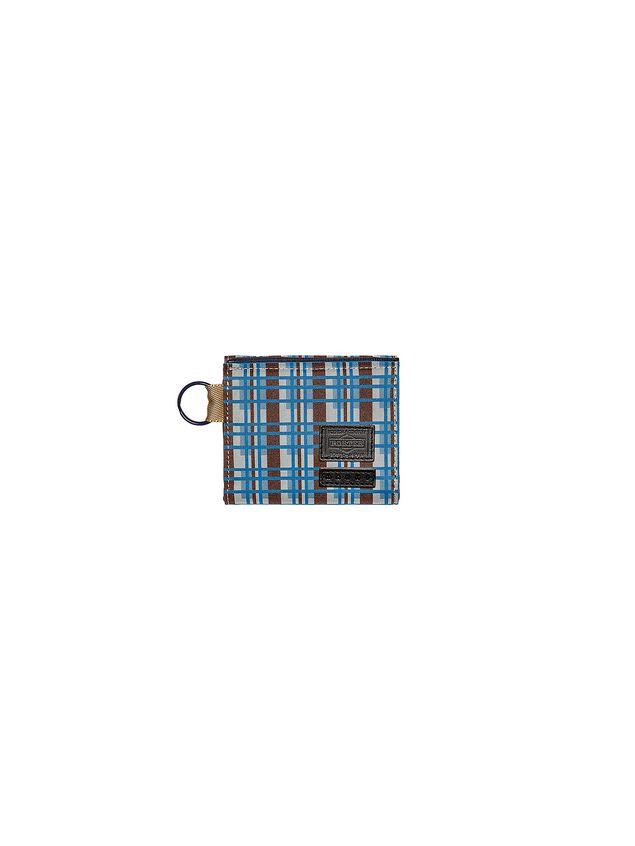 Marni PORTER wallet in nylon with Metro print Man