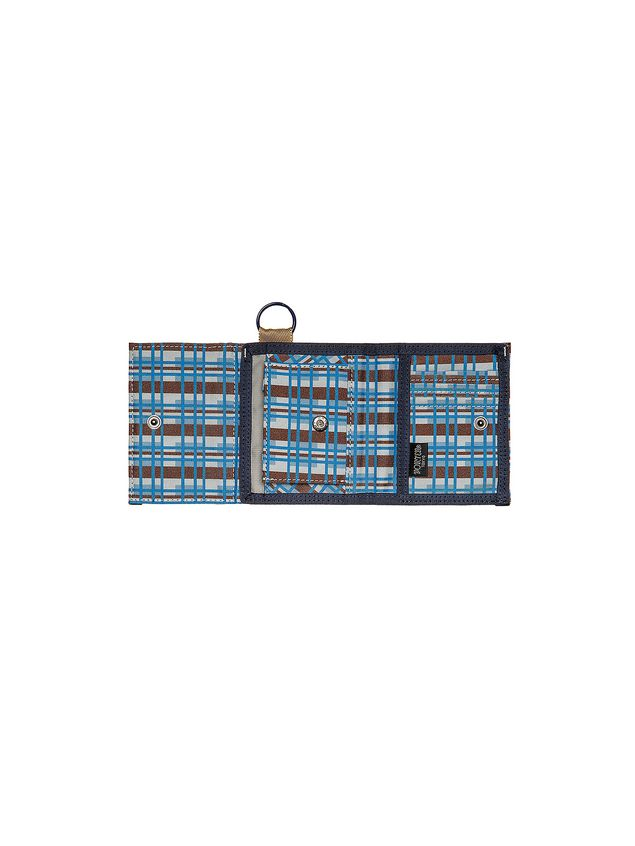 Marni PORTER wallet in nylon with Metro print Man - 2