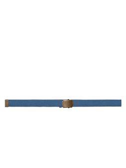 Marni Belt in blue nylon ribbon Man