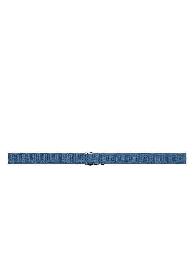 Marni Belt in blue nylon ribbon Man