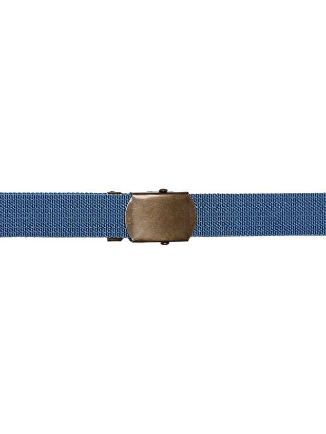 Marni Belt in blue nylon ribbon Man - 2
