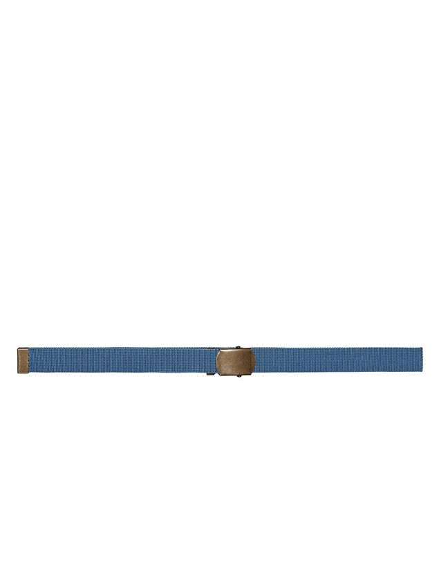 Marni Belt in blue nylon ribbon Man - 1
