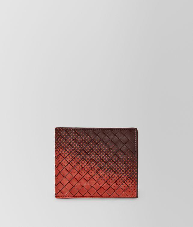 BOTTEGA VENETA DARK BAROLO INTRECCIATO NAPPA WALLET Bi-fold Wallet Man fp