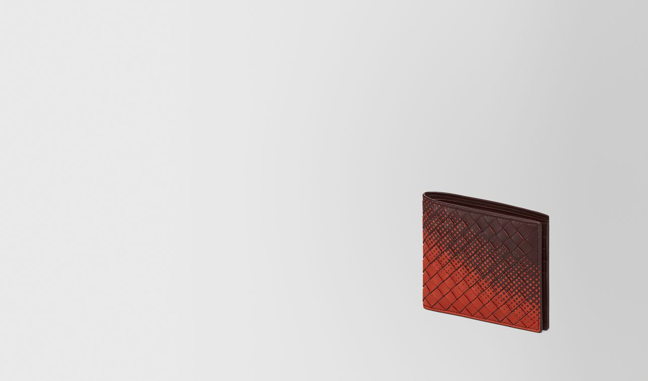 dark barolo intrecciato nappa wallet landing