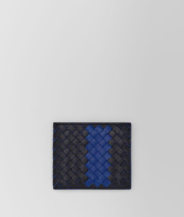 BOTTEGA VENETA TOURMALINE INTRECCIATO NAPPA WALLET Bi-fold Wallet Man fp