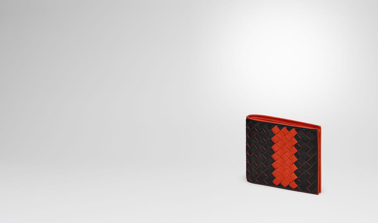 nero terracotta intrecciato nappa wallet landing