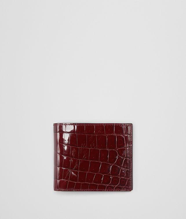 BOTTEGA VENETA BAROLO CROCODILE BI-FOLD WALLET Bi-fold Wallet Man fp