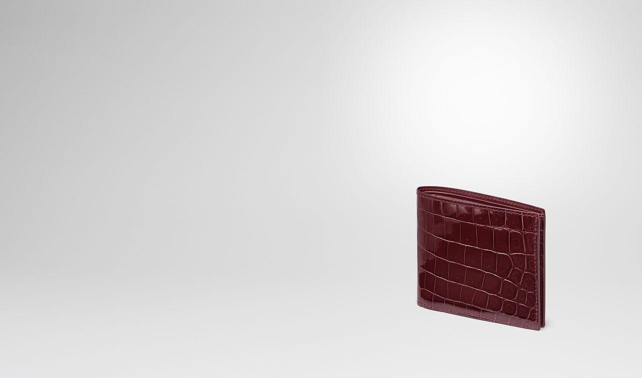 barolo crocodile bi-fold wallet landing