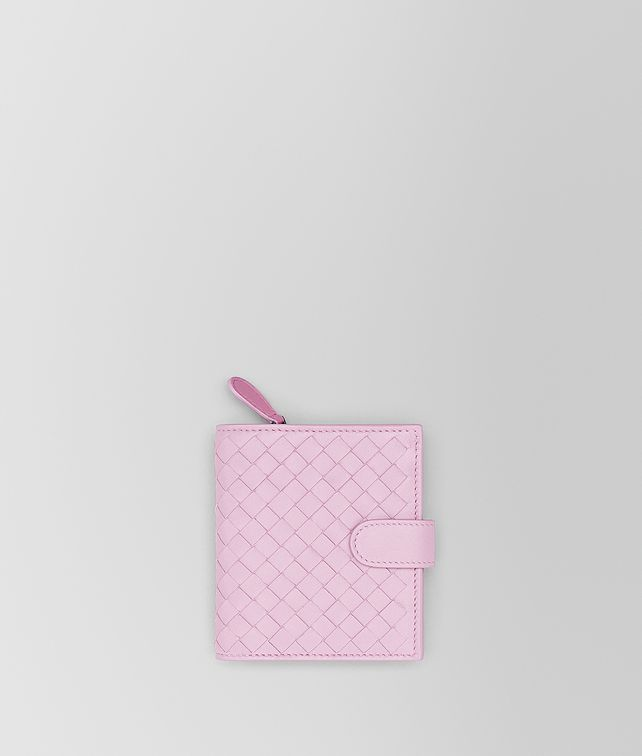 BOTTEGA VENETA DRAGEE INTRECCIATO NAPPA MINI WALLET Mini Wallet Woman fp