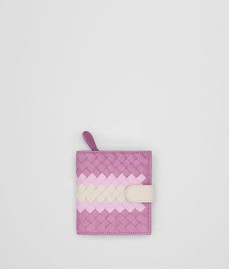 TWILIGHT INTRECCIATO LAMB CLUB MINI WALLET