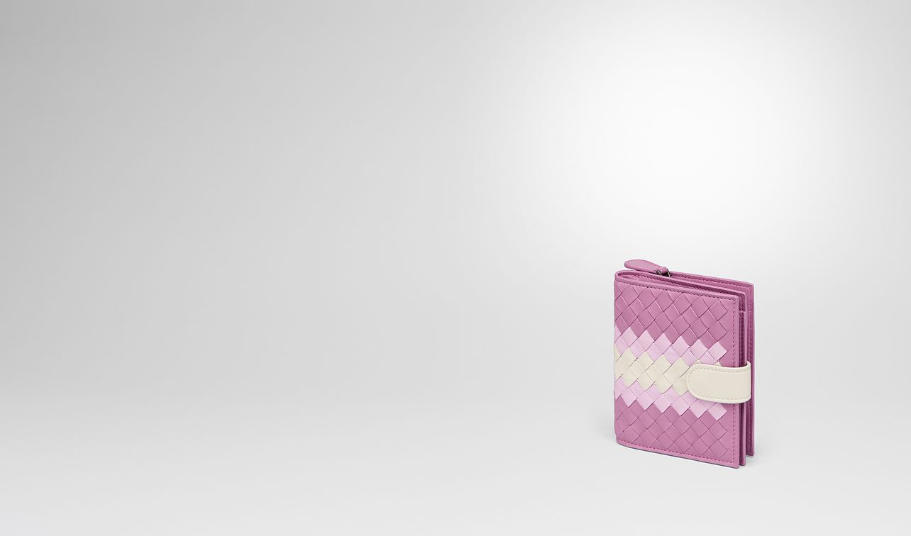 twilight intrecciato lamb club mini wallet landing