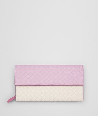 DRAGEE INTRECCIATO NAPPA MULTICOLOR CONTINENTAL WALLET