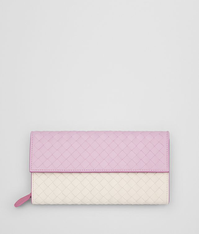 BOTTEGA VENETA DRAGEE INTRECCIATO NAPPA MULTICOLOR CONTINENTAL WALLET Continental Wallet Woman fp