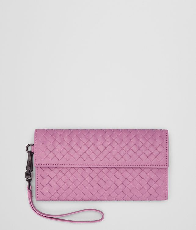 BOTTEGA VENETA TWILIGHT INTRECCIATO NAPPA CONTINENTAL WALLET Continental Wallet [*** pickupInStoreShipping_info ***] fp