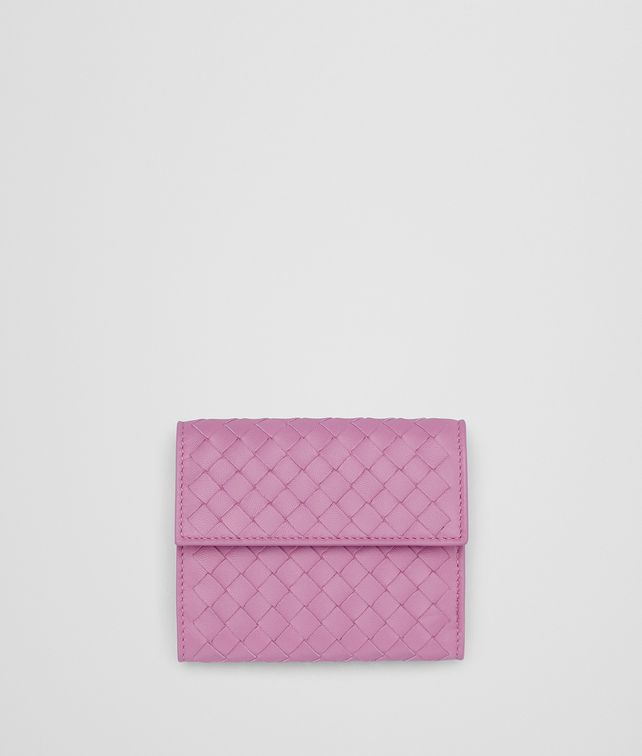BOTTEGA VENETA TWILIGHT INTRECCIATO NAPPA MINI WALLET Mini Wallet Woman fp