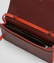 BOTTEGA VENETA GIGOLO RED INTRECCIATO NAPPA CONTINENTAL WALLET CHAIN WALLET Woman dp