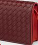 BOTTEGA VENETA GIGOLO RED INTRECCIATO NAPPA CONTINENTAL WALLET CHAIN WALLET Woman ep