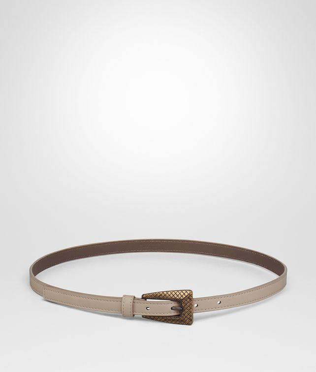 BOTTEGA VENETA DARK BAROLO INTRECCIATO NAPPA BELT Belt [*** pickupInStoreShipping_info ***] fp