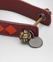BOTTEGA VENETA DARK BAROLO INTRECCIATO NAPPA CLUB KEY RING Keyring or Bracelets E ap