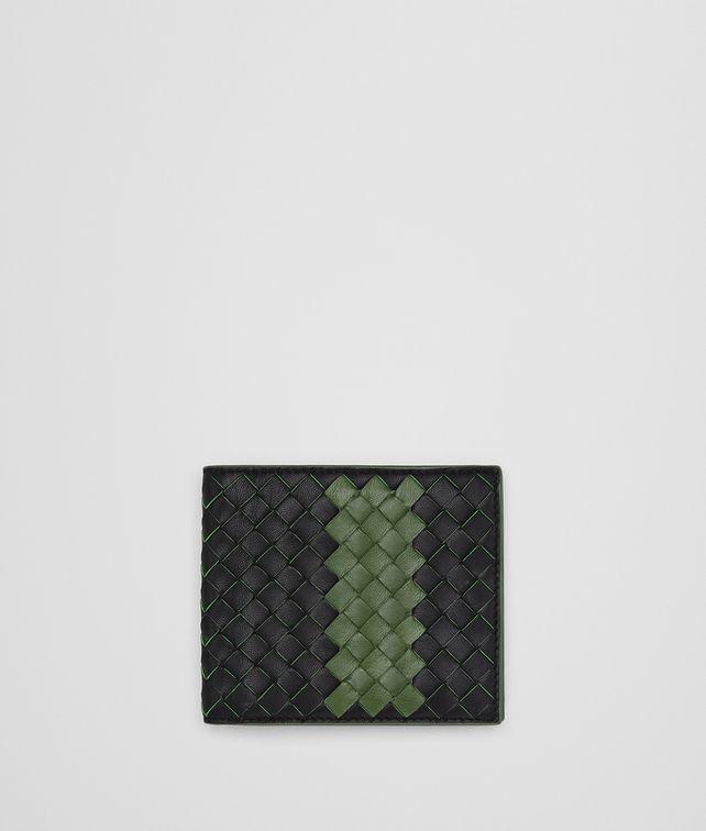 BOTTEGA VENETA NERO IVY INTRECCIATO NAPPA WALLET Bi-fold Wallet Man fp