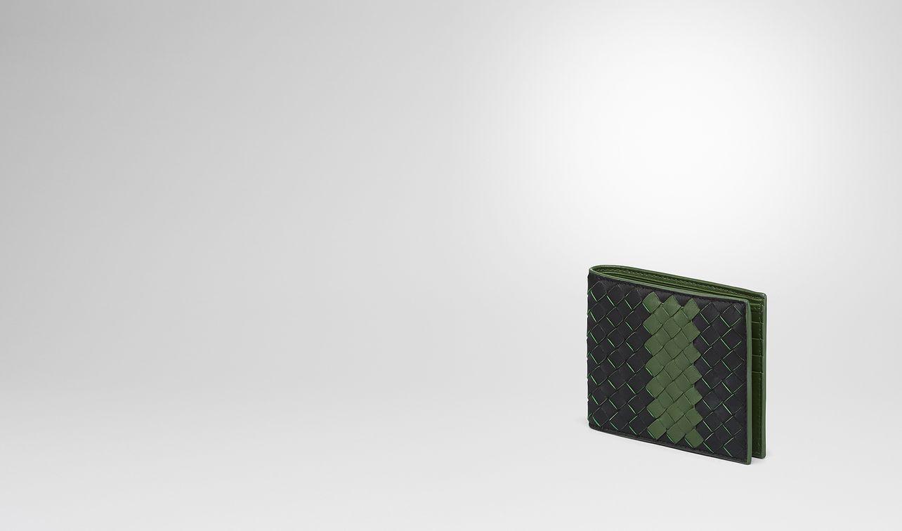 nero ivy intrecciato nappa wallet landing