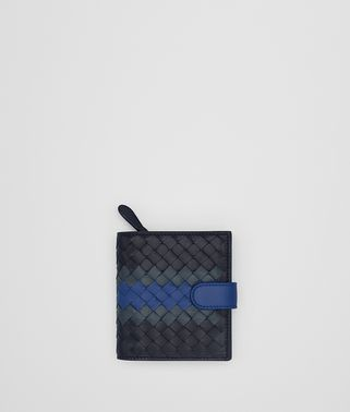 TOURMALINE INTRECCIATO LAMB CLUB MINI WALLET